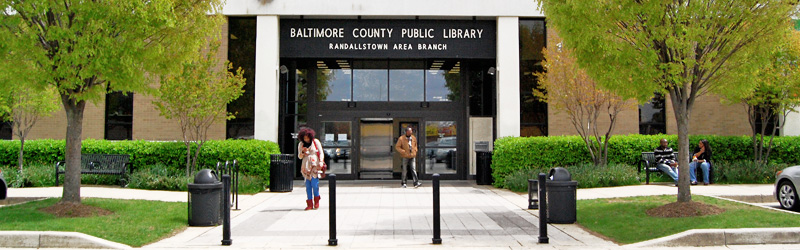 Randallstown library branch building